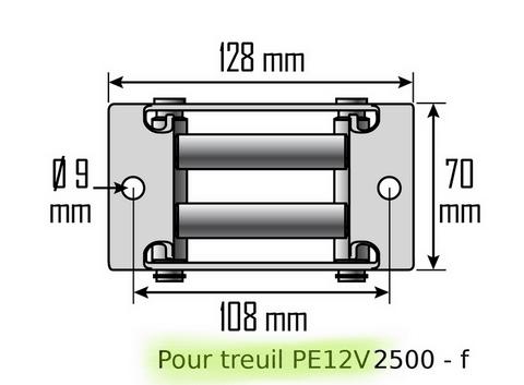 treuils tire fort fortec manuels electriques quad 12 v. Black Bedroom Furniture Sets. Home Design Ideas